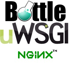 bottle+uwsgi+nginx